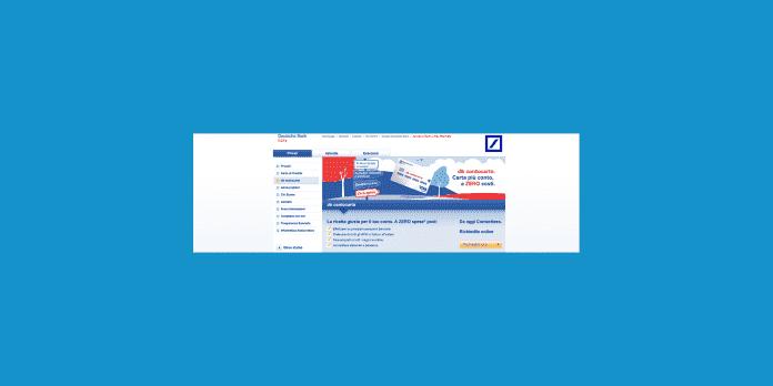 Deutsche Bank DB Contocarta bank