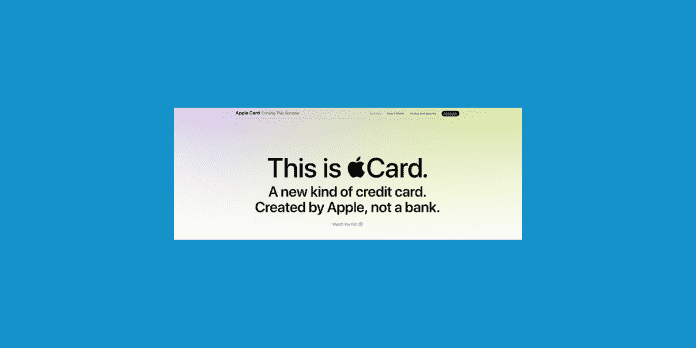 apple card o card apple