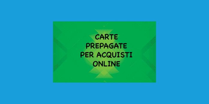 carta prepagata per acquisti online