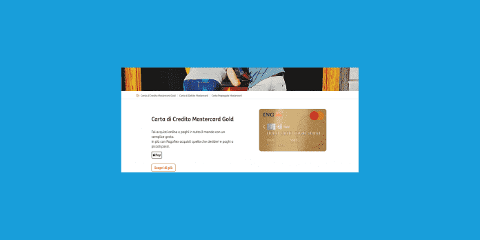 costo carta di credito ing direct